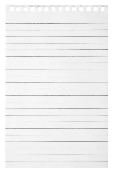 Blank lined paper background and texture with space \u2014 Stock Photo - blank lined page