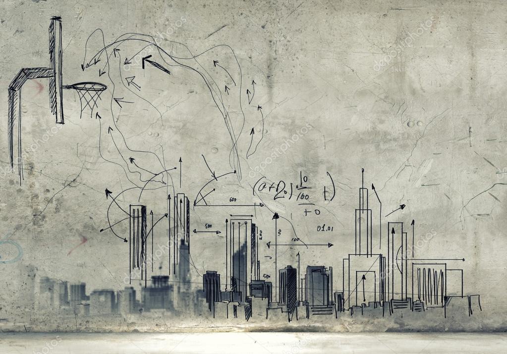 Sketch background \u2014 Stock Photo © SergeyNivens #40682591 - background sketches