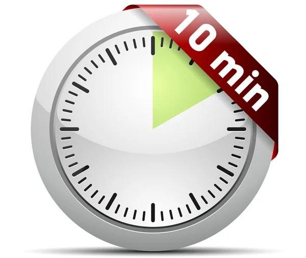 10 Minutes timer \u2014 Stock Vector © Yuriy_Vlasenko #47722715