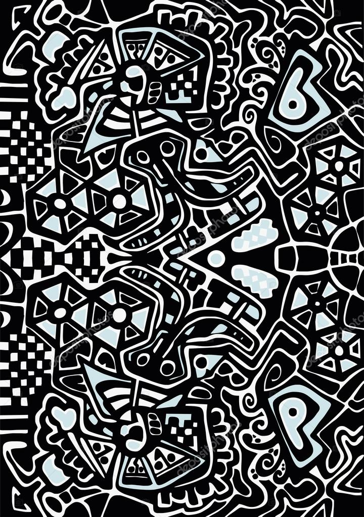 Lsd Wallpaper Iphone 6 Psicod 233 Lico Desenho Estilizado Vetores De Stock 21008751