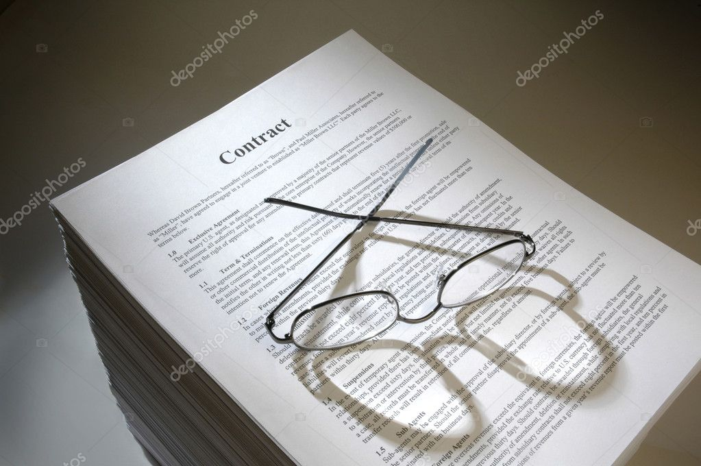 Multi-page legal contract agreement \u2014 Stock Photo © Balefire9 #25748905