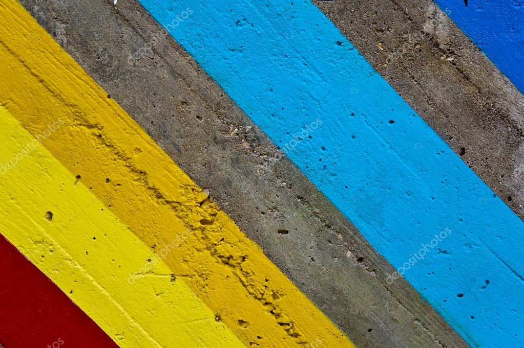 Colored lines on a wall  Stock Photo  cla1978 #6429162