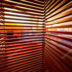 Wooden Privacy Screen Blinds Stock Photo © Littleny 24930243
