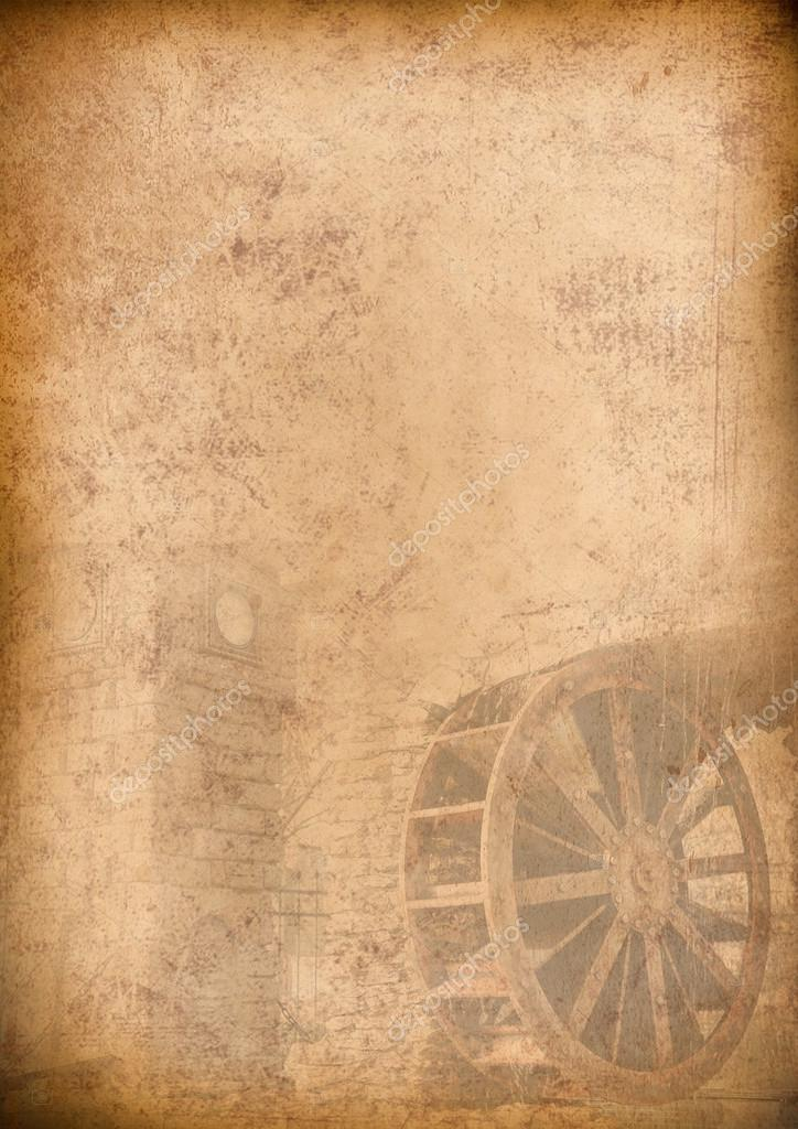 Classic Fall Wallpaper Old Menu Background Vintage Paper For Any Design Stock