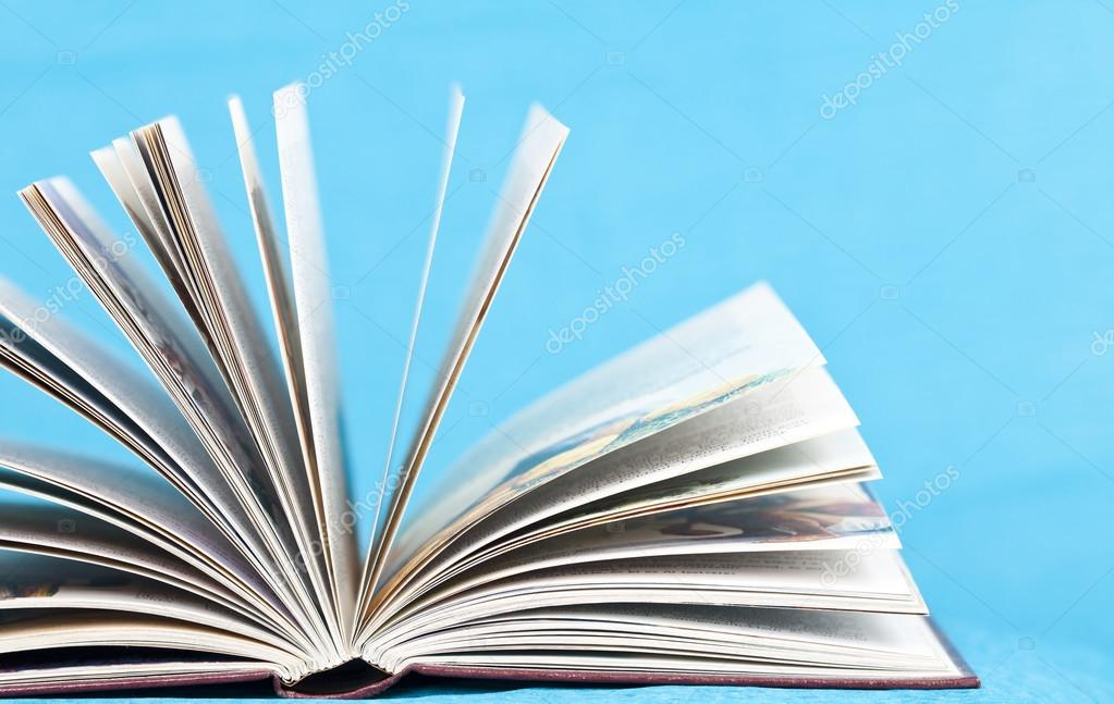 Close up on open book pages \u2014 Stock Photo © erika8213 #39801987