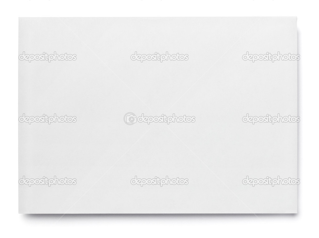 Leaflet letter business card white blank paper template u2014 Stock - white paper template