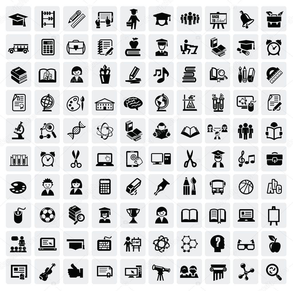 cv vector icons