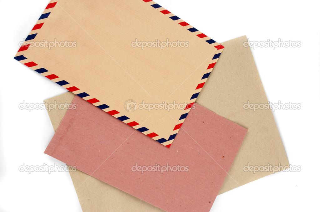 Three types of envelopes \u2014 Stock Photo © tempakul #12905891