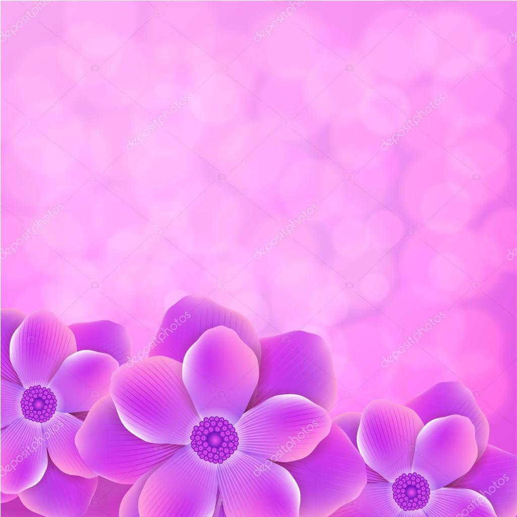 Black And Purple Wallpaper Fondo Morado Con Flores Vector De Stock 43635625