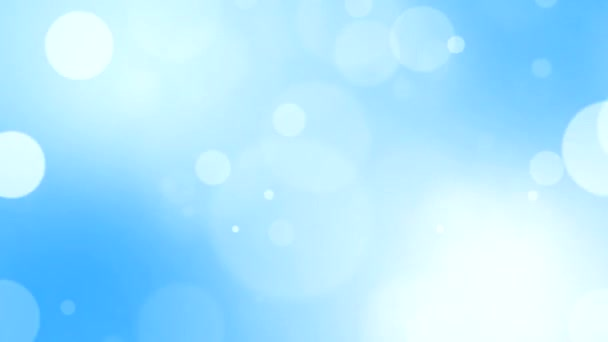 Snow Falling Live Wallpaper Download Blue Bokeh Background Stock Video 169 Cdpic 37193965