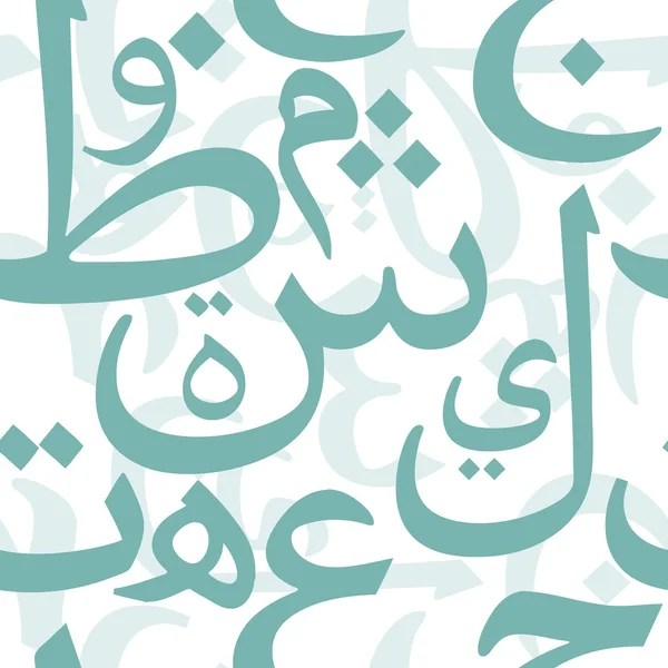 Arabic letters background Stock Vectors, Royalty Free Arabic letters