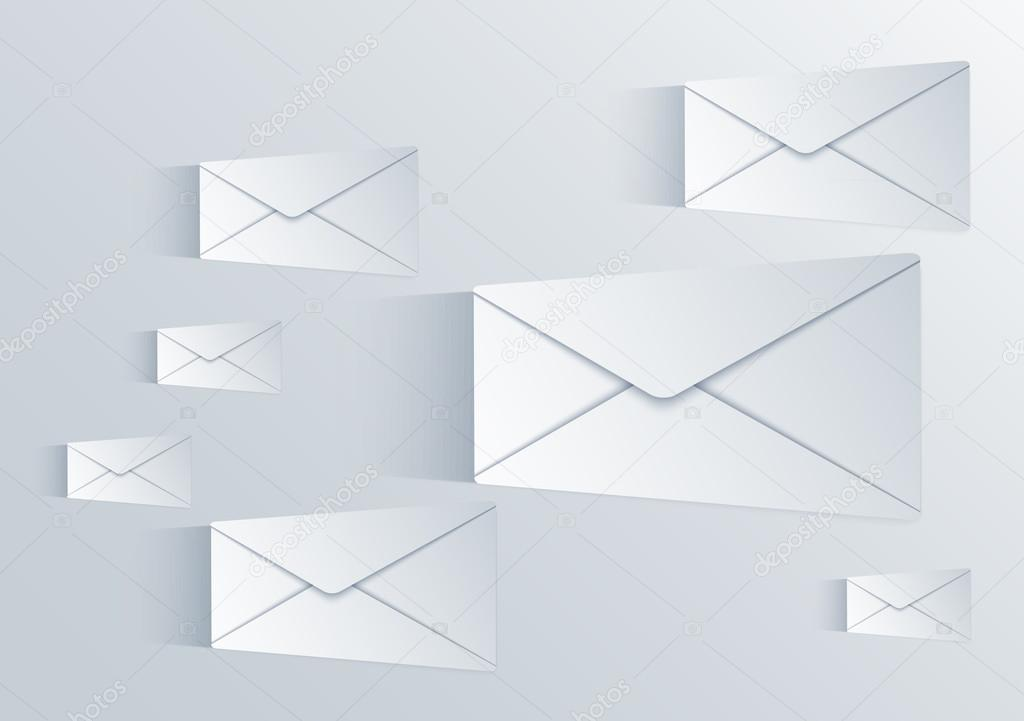 Vector mail background Eps10 \u2014 Stock Vector © trambo #23012528 - mail background