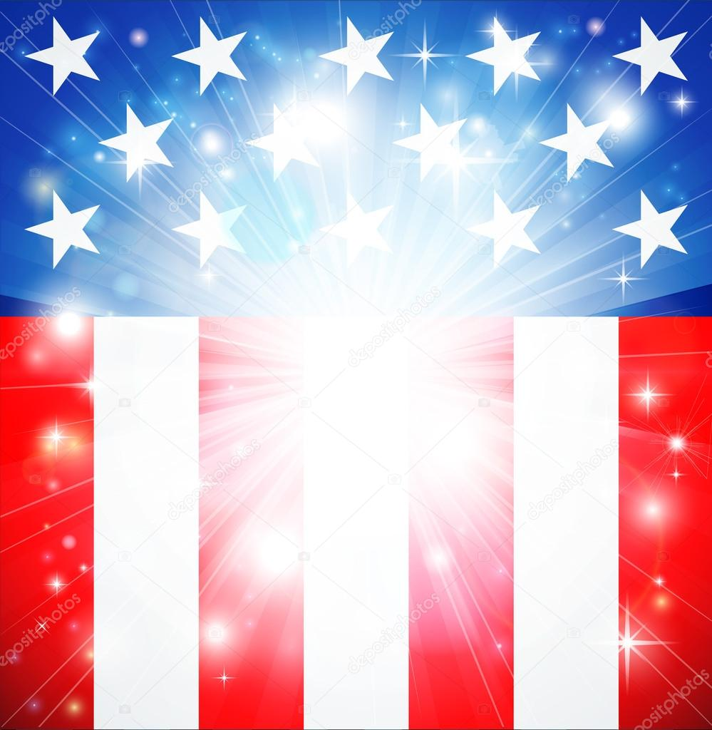 Fireworks Live Wallpaper Iphone American Flag Patriotic Background Stock Vector