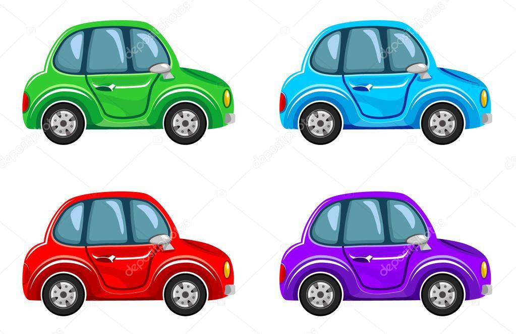 Cartoon cars \u2014 Stock Vector © gurZZZa #45498275