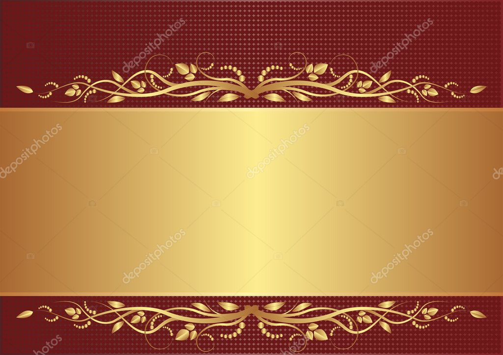Purple And Black Damask Wallpaper Burgundy And Gold Background Stock Vector 169 Mtmmarek