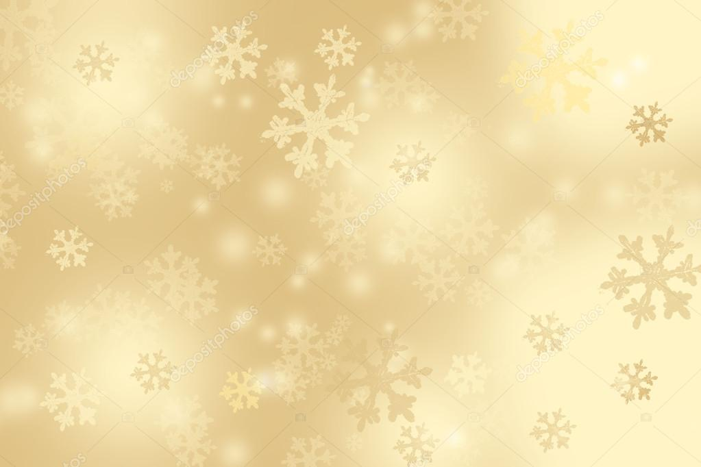 Free Download Of Christmas Wallpaper With Snow Falling Gold Christmas Background With Snowflakes Stock Vector