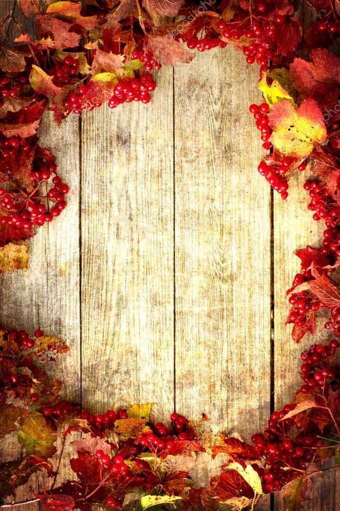 Fall Apples Wallpaper Vintage Autumn Border Stock Photo 169 Avgustin 24980965