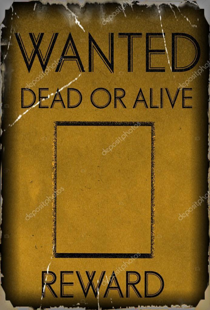 vintage wanted poster template \u2014 Stock Photo © Flik47 #45939521