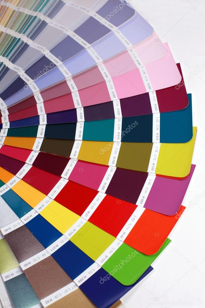 Detail of RAL color chart \u2014 Stock Photo © felker #14130180