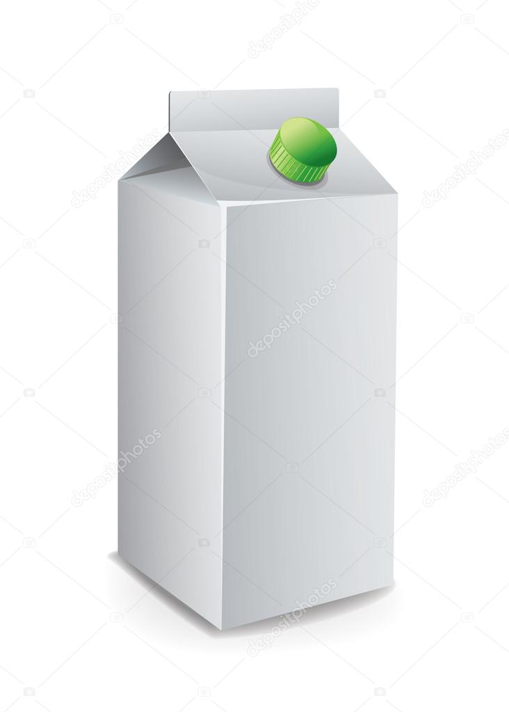 Milk Carton Template \u2014 Stock Vector © magurok5 #26936977 - Milk Carton Template