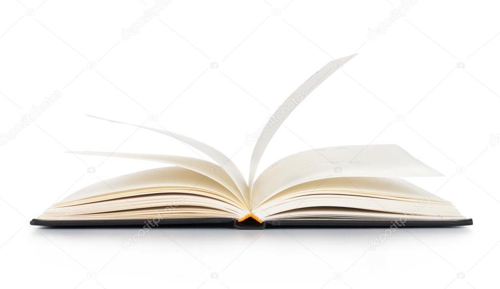 White opened book with blank pages \u2014 Stock Photo © vnstudio #12376801 - opened book