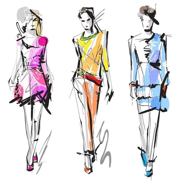 Fashion Stock Vectors, Royalty Free Fashion Illustrations