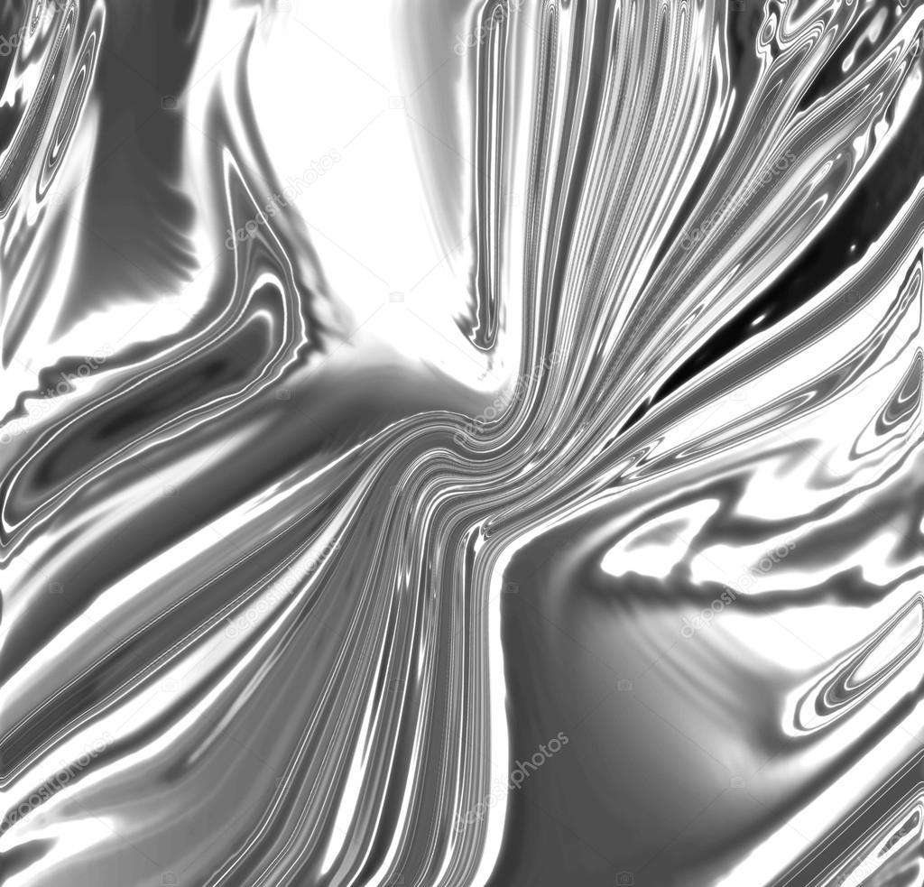 3d Liquid Abstract Wallpaper Fondo Met 225 Lico Plateado Fotos De Stock 169 Ellandar 21697597