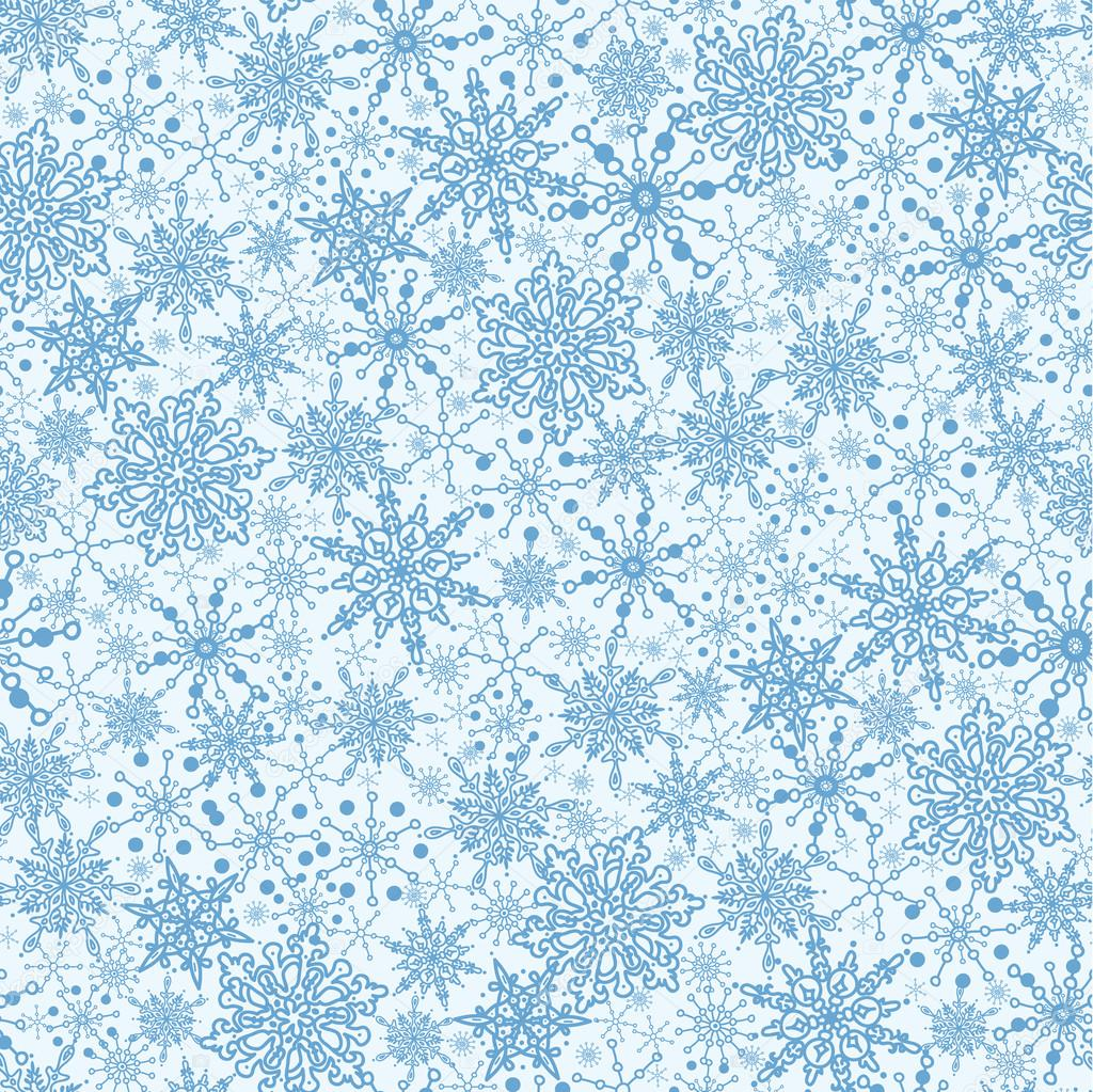 Falling Snow Live Wallpaper For Iphone Snowflake Texture Seamless Pattern Background Stock