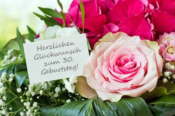 Niemiecki życzenia urodzinowe fotografia stokowa, Niemiecki życzenia