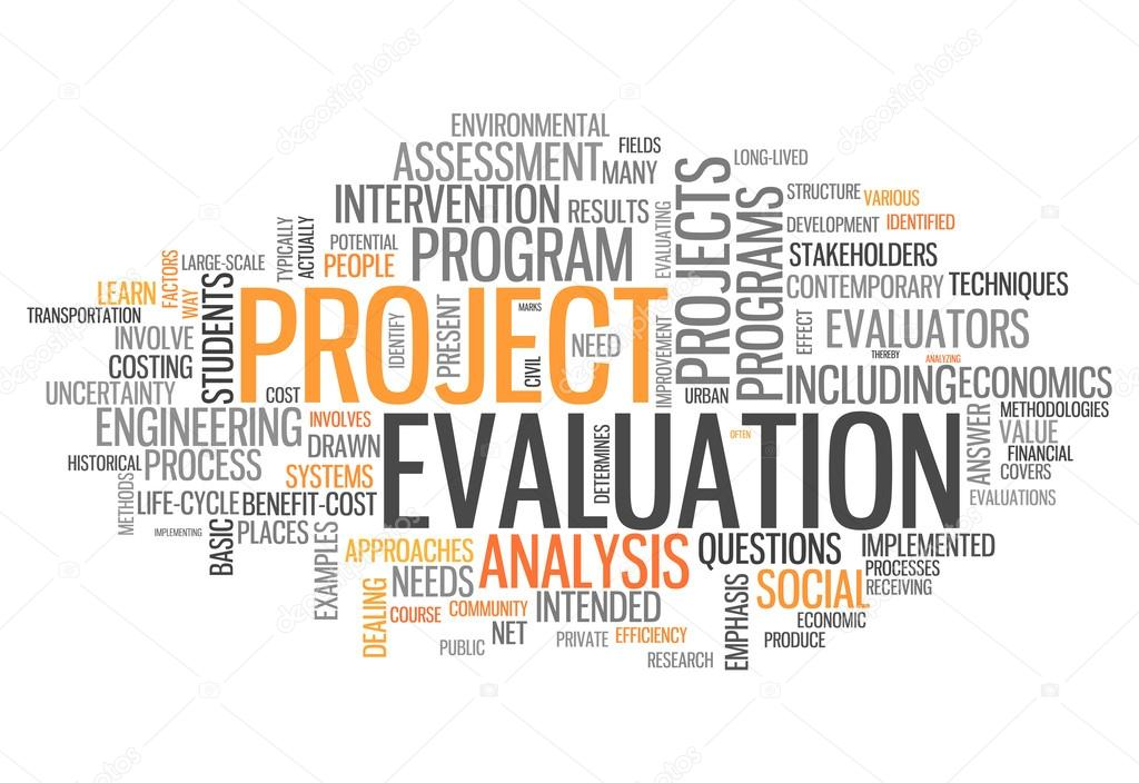 Word Cloud Project Evaluation \u2014 Stock Photo © mindscanner #42139465 - project evaluation