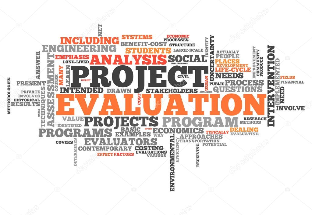 Word Cloud Project Evaluation \u2014 Stock Photo © mindscanner #42139475 - project evaluation