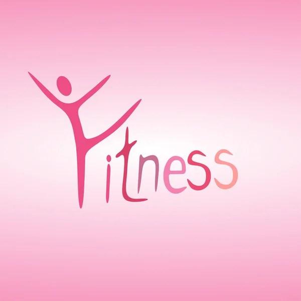 Man and the word fitness \u2014 Stock Vector © Chorniy10 #36640871