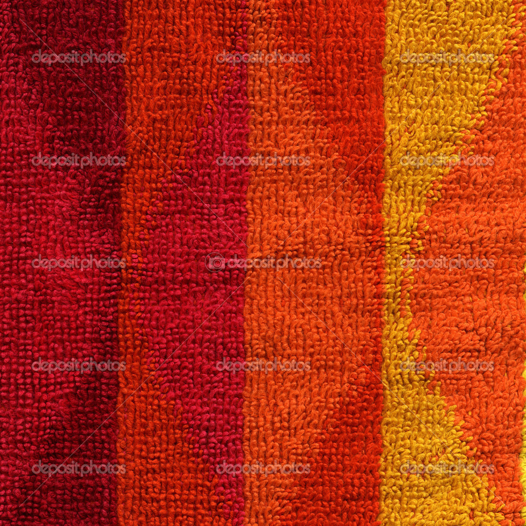 Handtücher Orange Stoff Textur Handtuch Rosa Rot Orange And Gelb