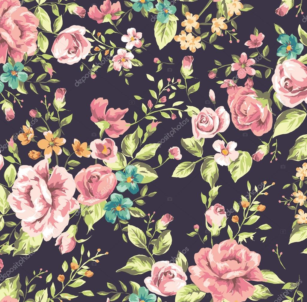 Cute Wallpaper Patterns Classic Wallpaper Vintage Flower Pattern Background