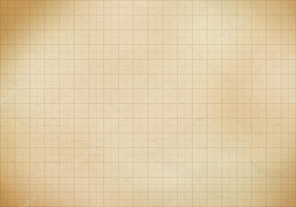 Blank millimeter old graph paper grid sheet background or textur - graph sheet download