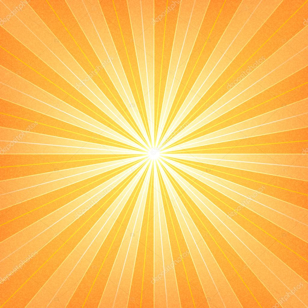 3d Live Wallpaper For Galaxy Y Orange Sunburst Blank Background Stock Vector