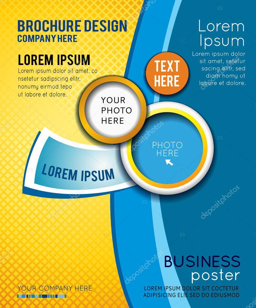 Poster design company - Poster Design Company Business Poster Design Stock Illustration Download