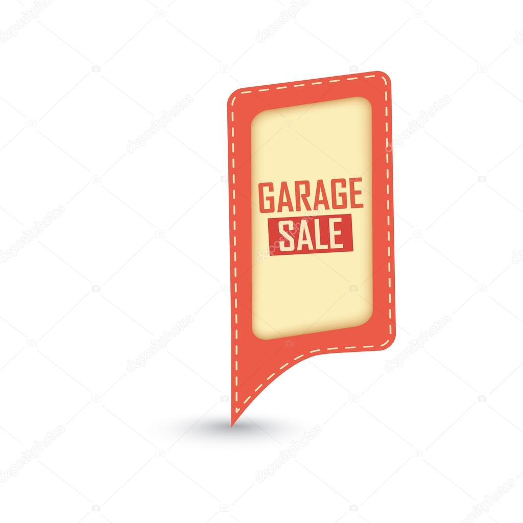 Garage Sale Price Stickers Garage Sale Label Stock Vector L4diseno 34511639