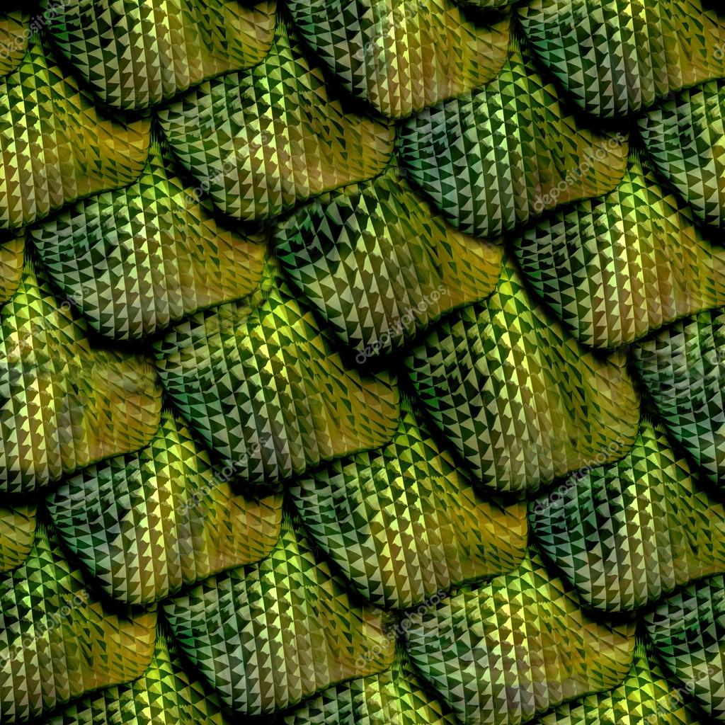 Fighter Fish Hd Wallpaper Download 3d Abstract Seamless Snake Skin Reptile Scale Stock