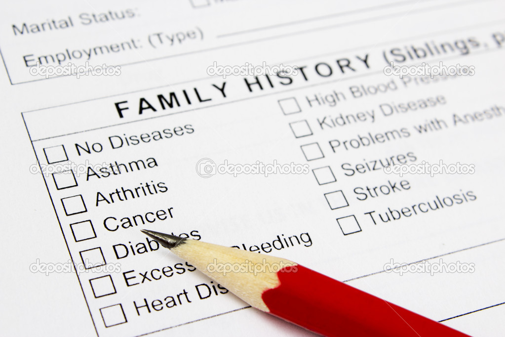 Medical claim form and patient medical history questionnaire \u2014 Stock - medical claim form