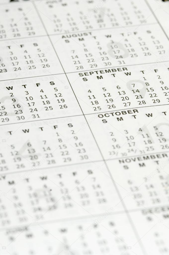 Personal organizer calendar \u2014 Stock Photo © imagedb_seller #32954039