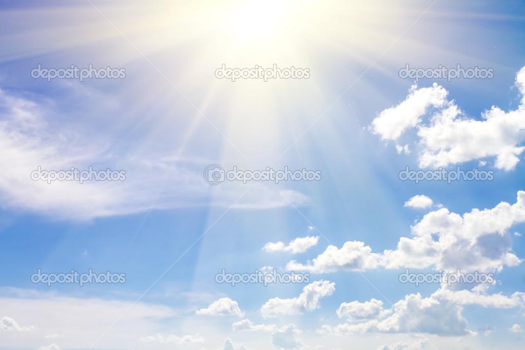 cielo con nubes - textura de fondo cielo abstracto \u2014 Fotos de Stock - fondo nubes
