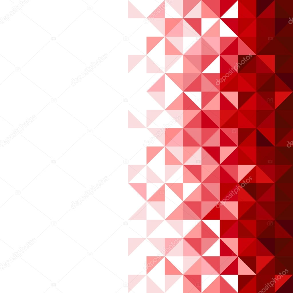 3d Live Wallpaper For Galaxy Y Abstract Geometric Background Triangle And Square Red