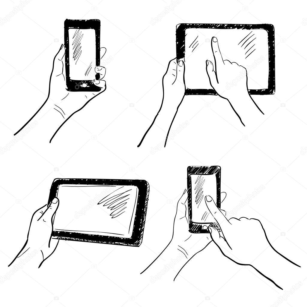 touch screen ledningsdiagram