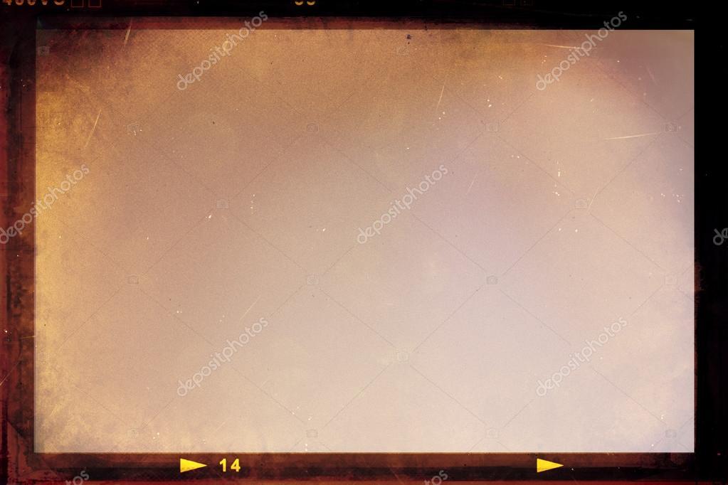 Vintage film strip frame \u2014 Stock Photo © lechernina #36770651