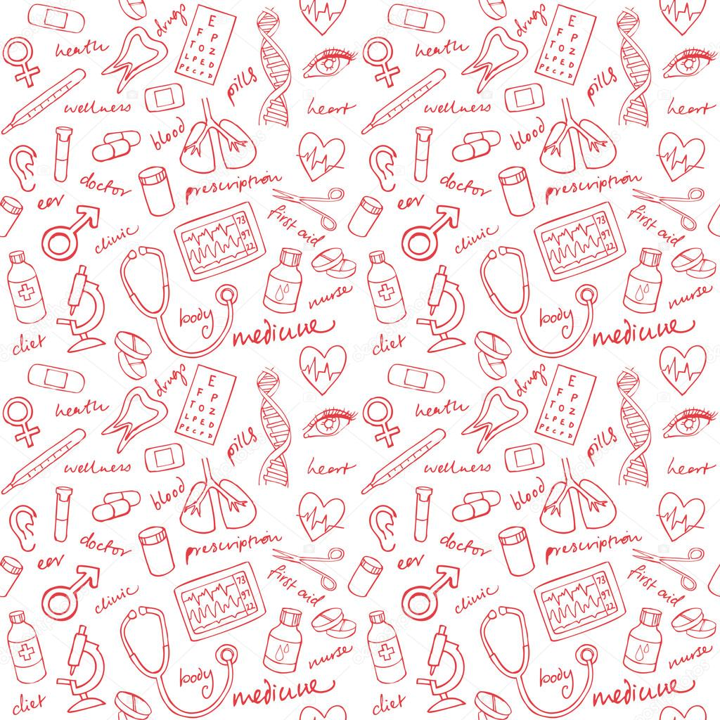 Cute Dental Wallpaper Patr 243 N De Los Iconos De Medicina Archivo Im 225 Genes