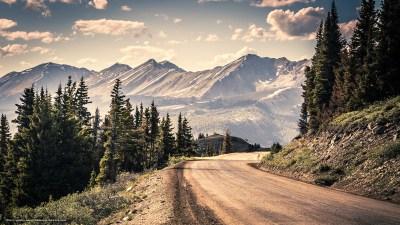 Tlcharger Fond d'ecran route, Montagnes, arbres, paysage Fonds d'ecran gratuits pour votre ...