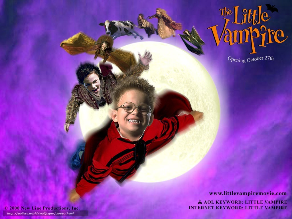 3d Movies Wallpapers Free Download Download Wallpaper Вампиреныш The Little Vampire Film