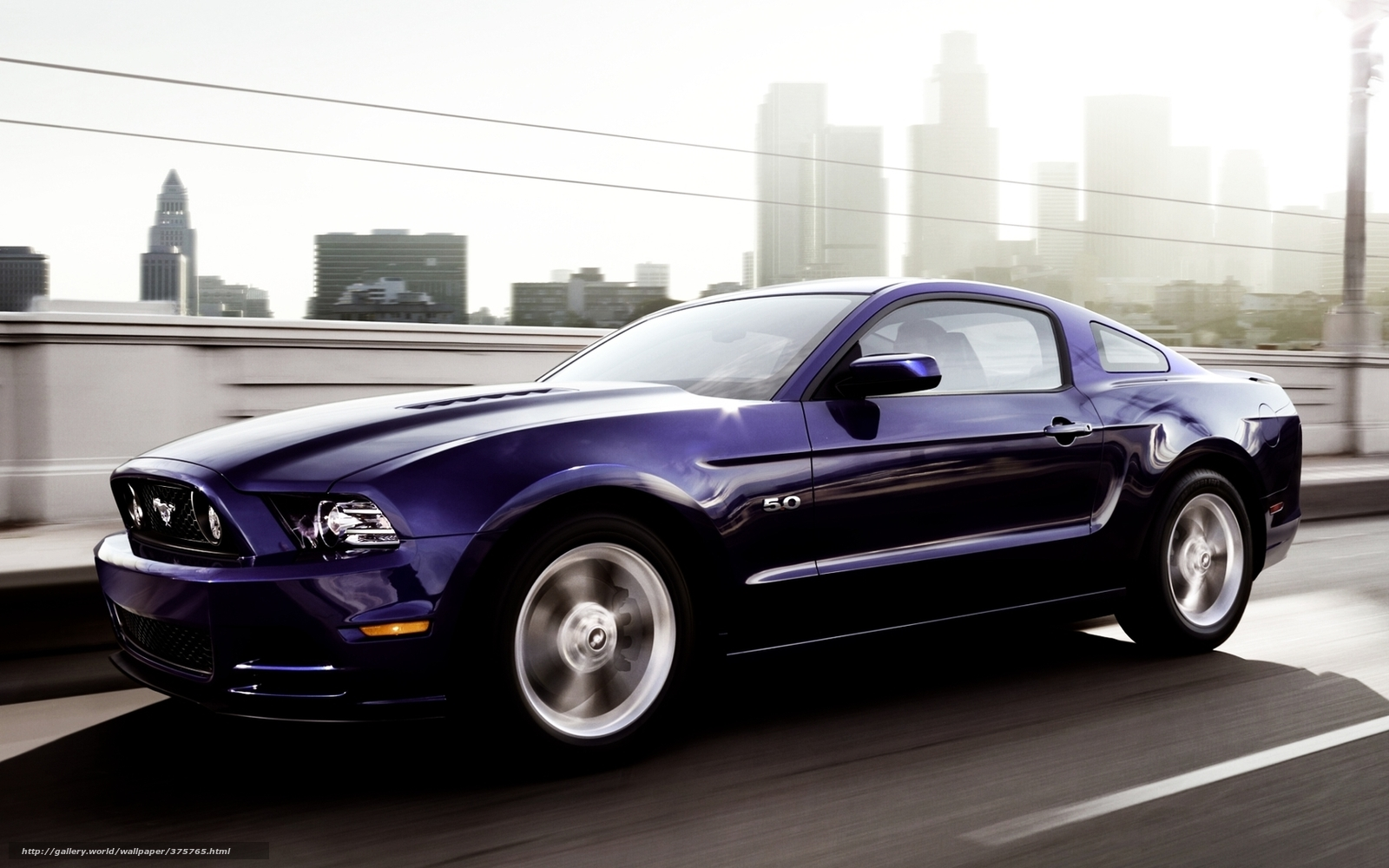Muscle Car Hd Wallpapers 1080p Download Wallpaper Ford Mustang Front Purple Free