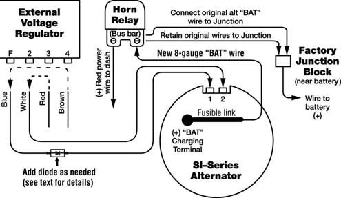 Delco Alternator Wiring Diagram External Regulator Diagram